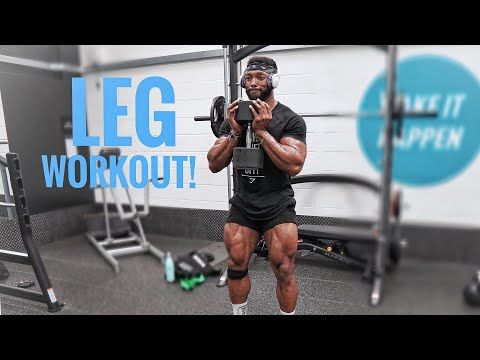 THE PERFECT LEG WORKOUT TO BUILD BIG STRONG LEGS | My Top Tips