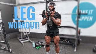 THE PERFECT LEG WORKOUT TO BUILD BIG STRONG LEGS   My Top Tips