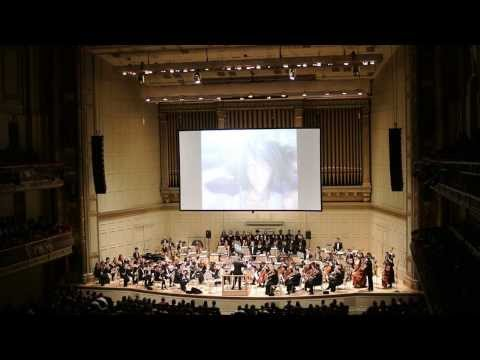Here's a clip from the 2013 Final Fantasy Distant Worlds tour at Symphony Hall in Boston.