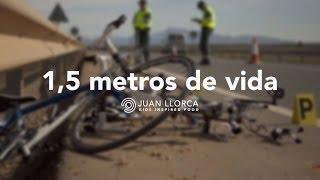 Al volante 0 Alcohol. No más ciclistas muertos. - JUAN LLORCA