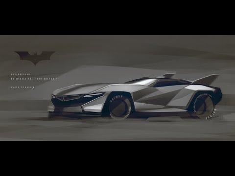 The Batmobile Egoista Is Like Superhero Supercar Fusion Cooking