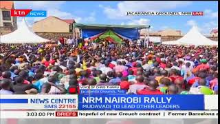 Main objective of the NASA rally in Jacaranda grounds  in Nairobi