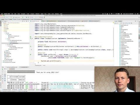 Jooq Gradle Spring Boot Liquibase Simple Example Part 1