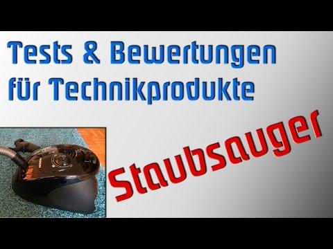 Produkttest: Siemens VS06G2410 Bodenstaubsauger synchropower power edition