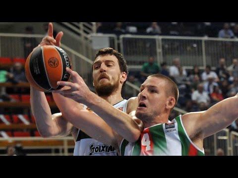 Highlights: RS Round 2, Panathinaikos Athens 85-73 Pinar Karsiyaka Izmir