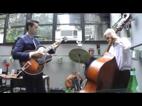 Jazz trio with bassist Murray Wall (Benny Goodman, Clark Terry) and drummer Doron Tirosh (Yotam Silberstein, Gilad Hekselman)