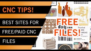 CNC TIPS - The Best Online Sources for Free and Paid CNC Files