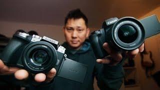 Best $500 Youtuber Camera in 2019? Canon M50 vs Panasonic Lumix G7