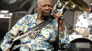 B.B. King. You are my sunshine. Jazz Fest may 2010