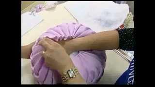 Fazendo almofadas pneu tri-foco copinho