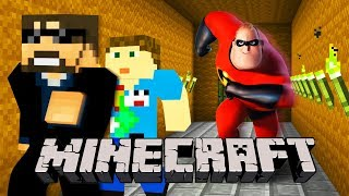 Minecraft: THE INCREDIBLES 2 MURDER!! | MODDED MINI-GAME