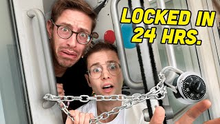 We Spent 24 Hrs. Locked In Our Office (No Internet)