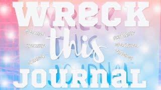 Wreck this journal / уничтожь меня / развороты/ #1/2018/ polinas ananas ❤️🦊❣️