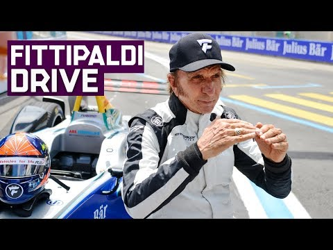 Emerson Fittipaldi Drives Formula E Car In Zurich! | ABB FIA Formula E Championship