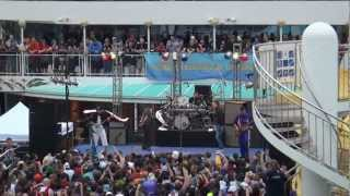 2013 311 Caribbean Cruise Don't Stay Home into Visit - Deck Show #1 - 3/1/2013 - LIVE