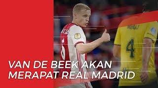 Real Madrid Boyong Gelandang Ajax pada Musim Panas Mendatang