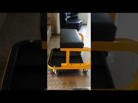 Asiento para mecanico con ruedas