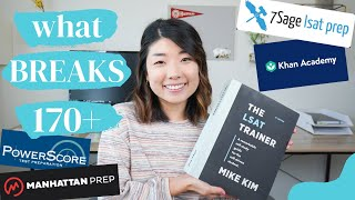 THE BEST LSAT RESOURCES | How I Scored a 175