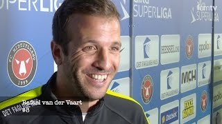Van der Vaart: En god følelse at score på MCH Arena