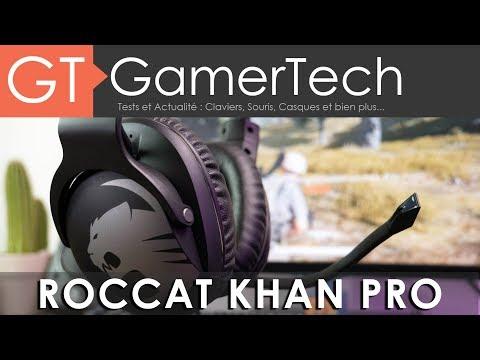 Roccat Khan Pro - TEST [FR] - Un casque gaming certifié Hi-Res Audio
