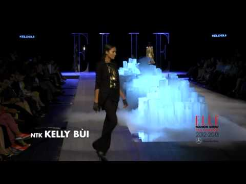 ELLE Fashion Show Fall/Winter 2012-2013 KELLY BÙI COLLECTION - Kelly Bui