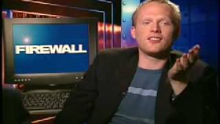 Paul Bettany interview for Firewall by Chuck the Movieguy