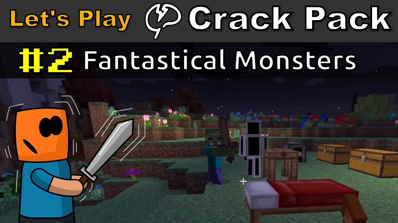 Minecraft - CrackPack #2 | Fantastical Monsters
