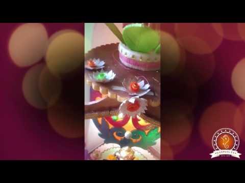 Swati Jain Home Ganpati Decoration Video
