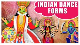 Learn Different Dance Forms of India   Learning Videos for Kids   Cartoon Doo Doo TV