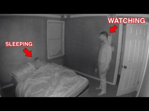 We Found Him Watching Her Sleep..
