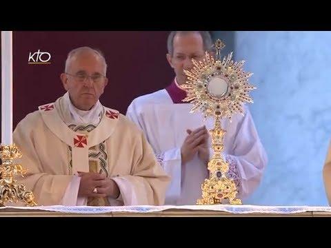 Solennité du Corps et du Sang du Christ