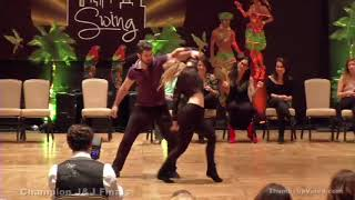 Ben Morris & Victoria Henk - Desert City Swing Champions Jack & Jill 2nd Place