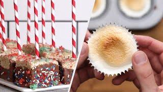 5 Soft & Chewy Marshmallow Treats •Tasty
