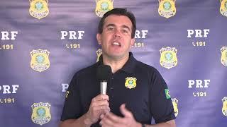 PRF deflagra Operação Semana Santa com fiscalização em pontos estratégicos