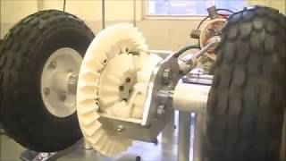How a differential works: Bevel and Helical Gears Integrated with Metal Parts