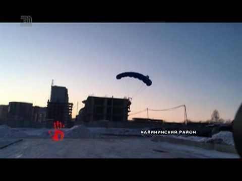 Челябинский экстремал выпрыгнул с 18 этажа жилого дома (видео)
