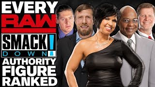 Every WWE Raw & SmackDown Authority Figure Ranked From WORST To BEST