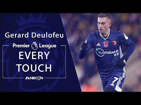 Every Gerard Deulofeu touch from Watford's first win of season | Premier League | NBC Sports