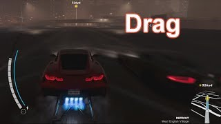 CREW2- HOW TO DRAG RACE TUTORIAL- BEST DRIFT CAR UNLOCKED (FULL GAME)