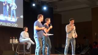 Себастьян Роше, JIBCON 5 Matt&Ty&Sebastian Panel(2014.5.24)
