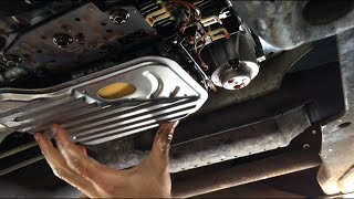 Chevy Truck Transmission Fluid And Filter Change