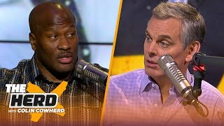 James Harrison offers insight on Antonio Brown's future with the Steelers and more | NFL | THE HERD
