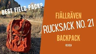 Fjällräven Rucksack No 21 Review