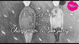 Changmin & Krystal (S.M. The Ballad) Breath [Japanese Ver.] Sub español/ Kanji/ Romaji + Color Coded