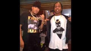 French Montana Ft ASAP Rocky Off The Rip Remix