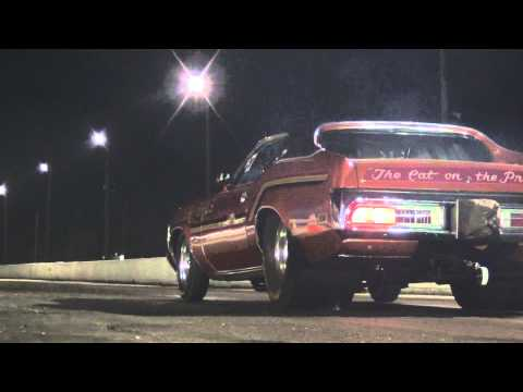 8 Second Car: Pro Street 71 Mercury Cougar Drag Racing