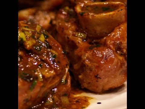 Italian Veal  Osso Buco Recipe