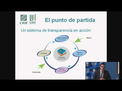 Seminario El Siguiente Paso de la Reforma de Transparencia: instituciones, procedimientos y eficacia