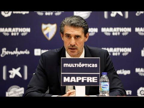 Caminero busca la unión entre club, jugadores y afición del Málaga