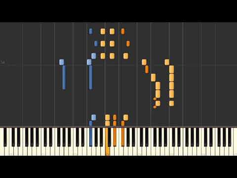 Not Yet Evening (Raimond Pauls) - Piano tutorial